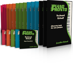 Piano Pronto Core Curriculum
