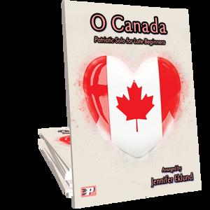 O Canada for Easy Piano