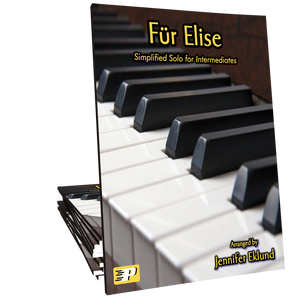 Fur Elise Intermediate Simplified Version