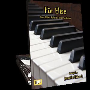 Fur Elise Intermediate Simplified Version