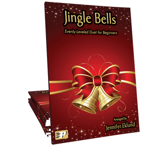 Jingle Bells (Evenly-Leveled Duet for Beginners)