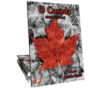 O Canada - Multi-Level Solo Pack