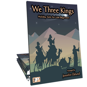 We Three Kings (Easy Piano)