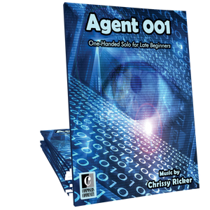 Agent 001 - One-Handed Solo by Chrissy Ricker **Friday Freebie**