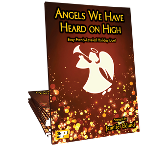 Angels We Have Heard on High (Easy Evenly-Leveled Duet)