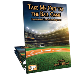 Take Me Out to the Ball Game (Easy Duet)