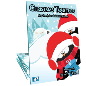 Christmas Together (Easy Evenly-Leveled Duets)