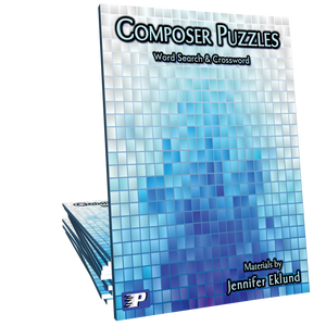 Composer Puzzles (Word Search & Crossword)