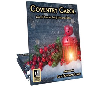 Coventry Carol Trio - Arranged by Lisa Donovan Lukas