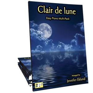 Clair de lune (Easy Piano Multi-Pack)