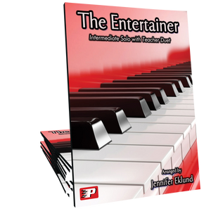 The Entertainer (Easy Piano with Teacher Duet)