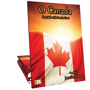 O Canada - Easy Solo with Teacher Duet