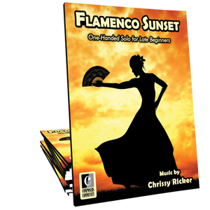 Flamenco Sunset - One-Handed Solo by Chrissy Ricker