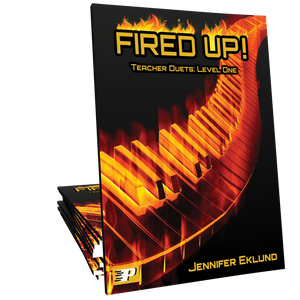 Fired Up! Teacher Duets: Level One - Method for Older Beginners