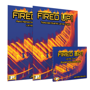 Fired Up! Level Two Teacher Super Pack