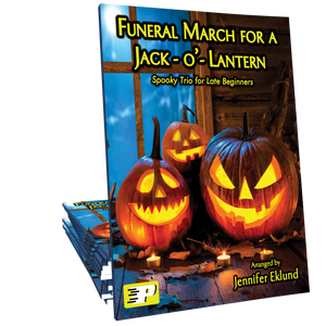 Funeral March for a Jack-o-Lantern (Easy Trio)