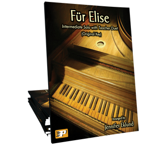 Fur Elise (Intermediate Solo with Teacher Duet)
