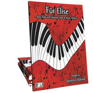Fur Elise Easy Version with Duet & History Lesson