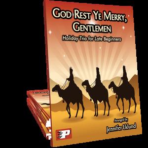 God Rest Ye Merry Gentlemen (Easy Trio)