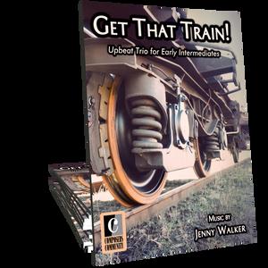 Get That Train! - Trio by Jenny Walker