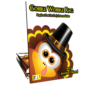 Gobble Wobble Rag Duet **LIMITED TIME FREEBIE**