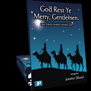 God Rest Ye Merry Gentlemen (Easy Evenly-Leveled Duet)