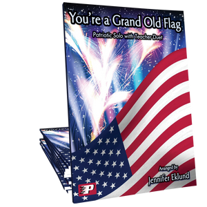 You're a Grand Old Flag (with teacher duet)