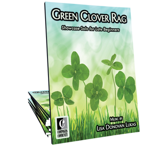 Green Clover Rag **LIMITED TIME FREEBIE**