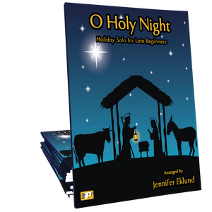 O Holy Night for Easy Piano