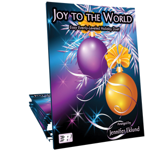 Joy to the World (Easy Evenly-Leveled Duet)
