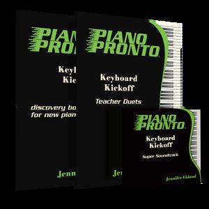 Keyboard Kickoff Teacher Super Pack (Student Book, Teacher Duets, Play-Along CDs)