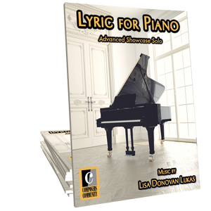 Lyric for Piano by Lisa Donovan Lukas