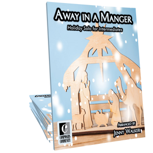 Away in a Manger - Arranged by Jenny Walker