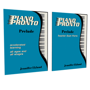 Piano Pronto® Prelude Essentials (Method Book & Teacher Duets)