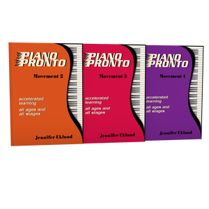Piano Pronto® Early Intermediate Starter Pack