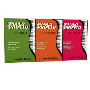 Piano Pronto® Late Beginners Starter Pack