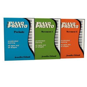 Piano Pronto® Lesson Books Combo Pack