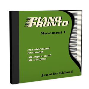 Recordings: Piano Pronto®, Movement 1 (Digital Download - Mp3s)
