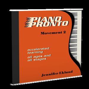 Recordings: Piano Pronto®, Movement 2 (Digital Single User: Mp3 Files)