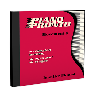Recordings: Piano Pronto®, Movement 3 (Digital Single User: Mp3 Files)