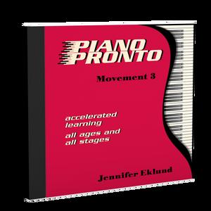 Recordings: Piano Pronto®, Movement 3 (Digital Single User: Mp3 Files)
