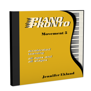 Recordings: Piano Pronto®, Movement 5 (Digital Single User: Mp3 Files)