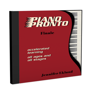 Recordings: Piano Pronto®, Finale (Digital Download - Mp3s)