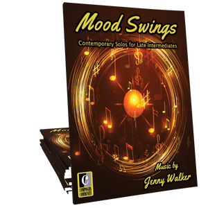 Mood Swings - Songbook by Jenny Walker **WILD WEDNESDAY DEAL**