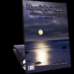 Moonlight Sonata for Intermediates (Key of E Minor)