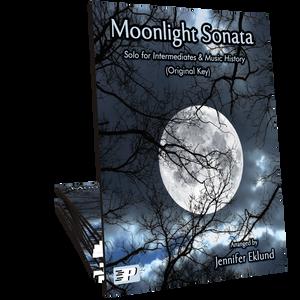 Moonlight Sonata (original key of C-sharp minor)