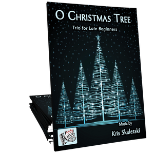 O Christmas Tree Trio