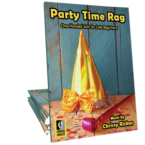 Party Time Rag - One-Handed Solo by Chrissy Ricker