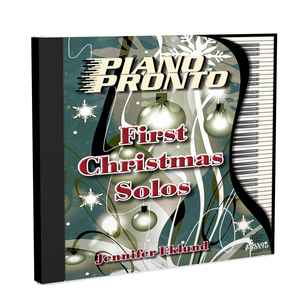 Play-Along Soundtracks: First Christmas Solos