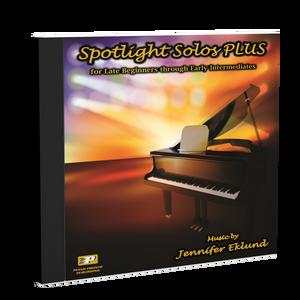 Play-Along Soundtracks: Spotlight Solos PLUS